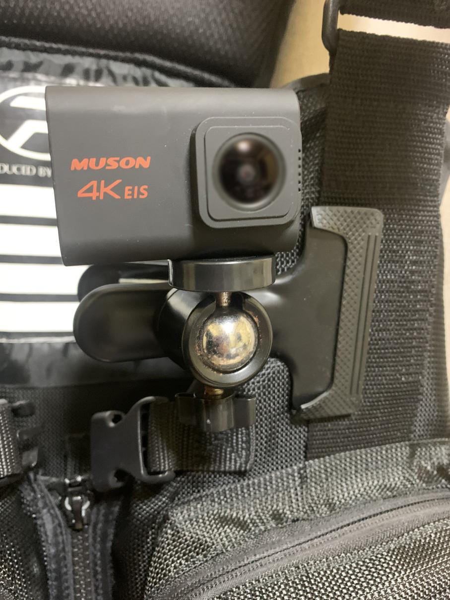 クリップのカメラマウント